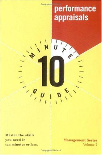 10 minute guide by Dale Furtwengler