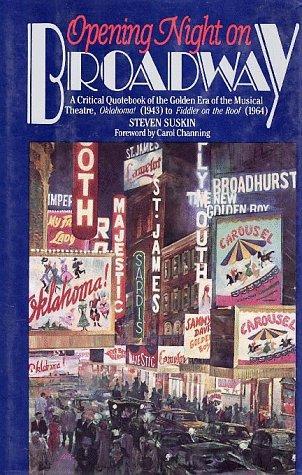 Opening Night on Broadway