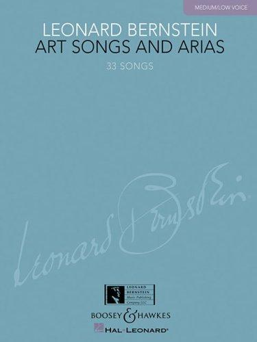 Leonard Bernstein – Art Songs and Arias