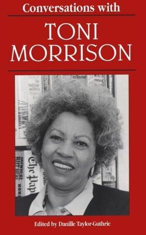 Conversations with Toni Morrison by Toni Morrison