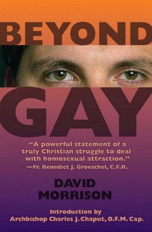 Beyond gay by Morrison, David