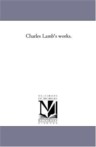 Charles Lamb's works.