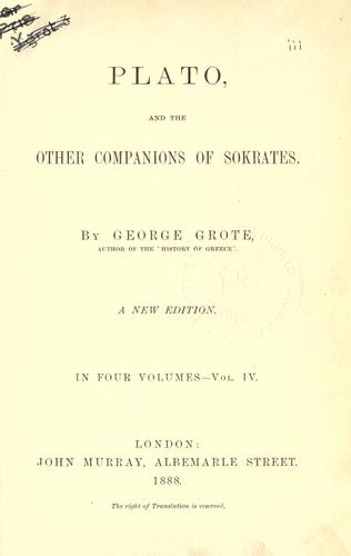 Plato, and the other companions of Sokrates.