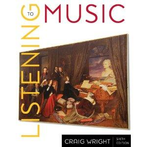 2-CD Set for Wright's Listening to Music, 6th and Listening to Western Music by