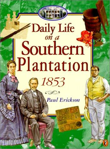 Daily Life on a Southern Plantation by Paul Erickson