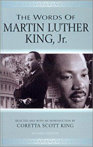 Words of Martin Luther King, Jr (Newmarket Words of) by Coretta Scott King
