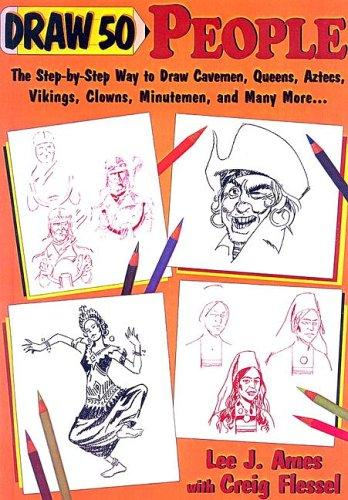 Draw Fifty People (Draw 50) by Lee J. Ames