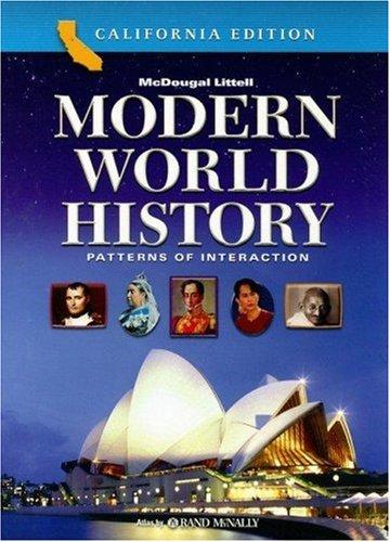 Modern World History California Edition by Roger B. Beck, Linda Black, Larry S. Krieger