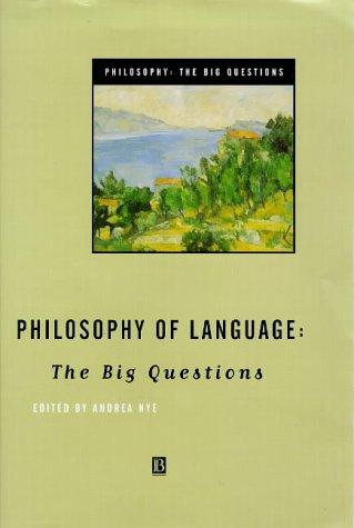 Philosophy of Language by Andrea Nye