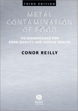 Metal Contamination of Food by Conor Reilly