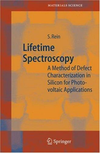 Lifetime Spectroscopy by Stefan Rein