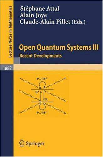 Open quantum systems by
