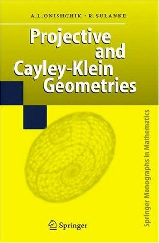 Projective and Cayley-Klein geometries by