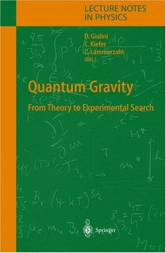 Quantum gravity by