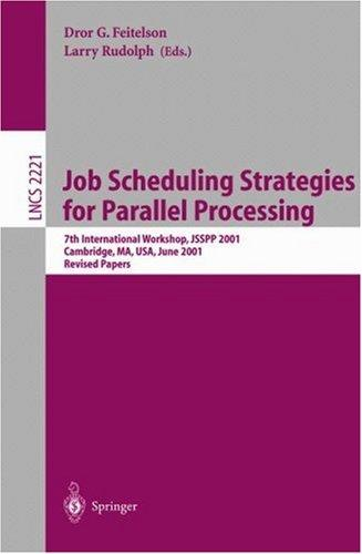 Job Scheduling Strategies for Parallel Processing by