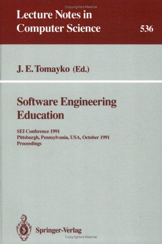 Software Engineering Education by James E. Tomayko