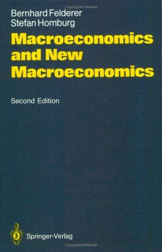 Macroeconomics and new macroeconomics