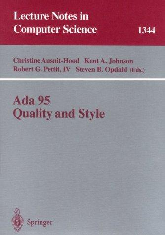 Ada 95 quality and style by