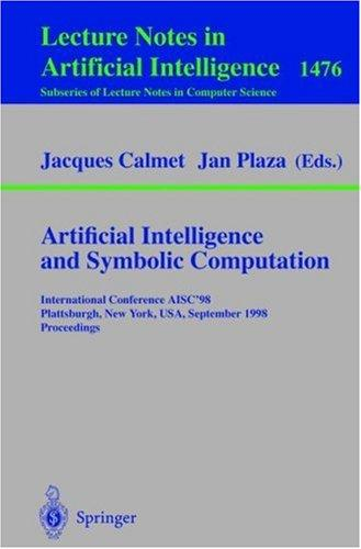 Artificial intelligence and symbolic computation by
