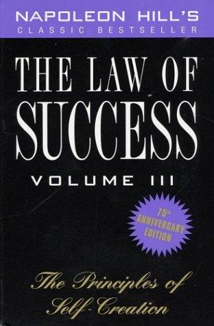 The Law of Success, Volume III