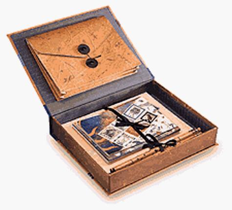 Griffin & Sabine Writing Box by Nick Bantock