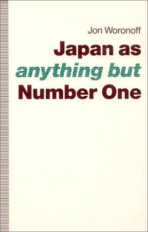 Japan as -anything but- number one