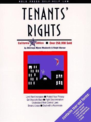 Tenants' rights by Myron Moskovitz