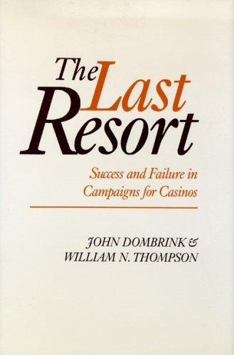 The last resort by John Dombrink