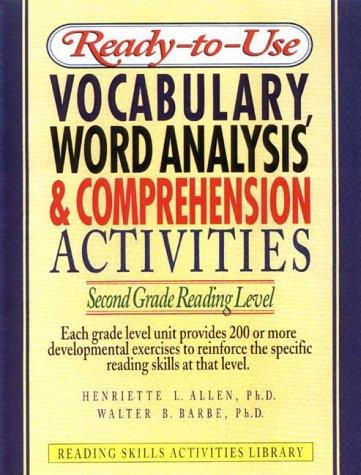 Image 0 of Ready-To-Use Vocabulary, Word Analysis & Comprehension Activities: First Grade R