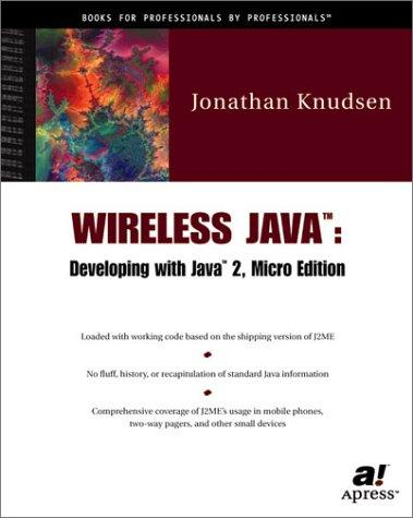 Wireless Java by Jonathan Knudsen
