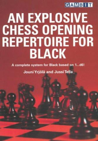 An explosive chess opening repertoire for black by