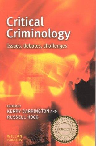 Critical criminology by