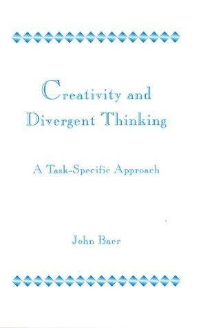 Image 0 of Creativity and Divergent Thinking: A Task-Specific Approach