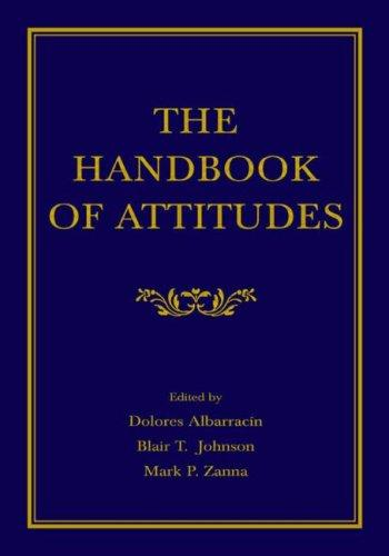The handbook of attitudes by