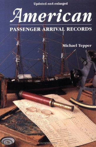 American passenger arrival records by Michael Tepper
