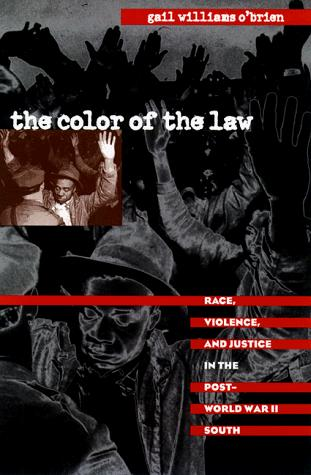 The color of the law by Gail Williams O'Brien