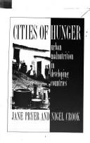 Cities of hunger by Jane Pryer