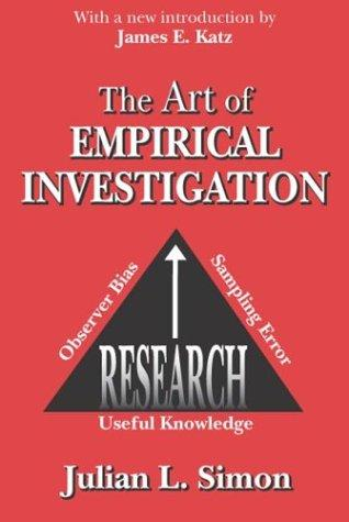The Art of Empirical Investigation by Julian Lincoln Simon