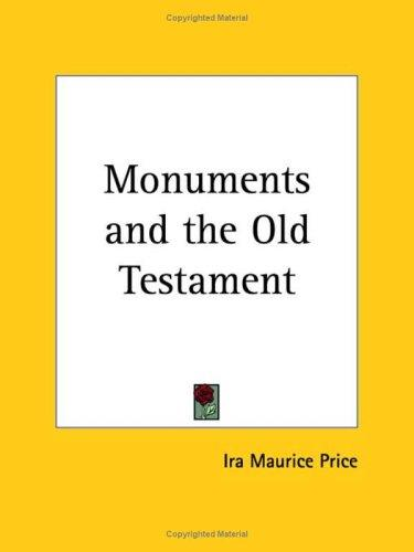 Monuments and the Old Testament