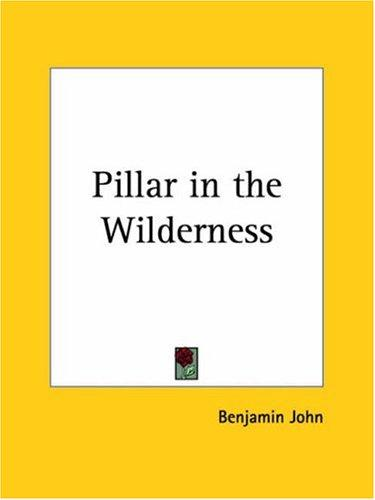 Pillar in the Wilderness by Benjamin John