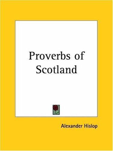 Proverbs of Scotland