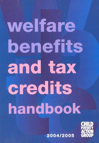 Welfare Benefits and Tax Credits Handbook by Caroline George