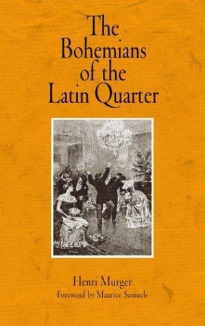 The Bohemians of the Latin Quarter