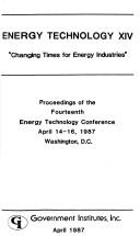 Energy Technology XIV by Richard F. Hill