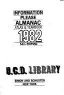 Information Please Almanac 1982 by Not Listed